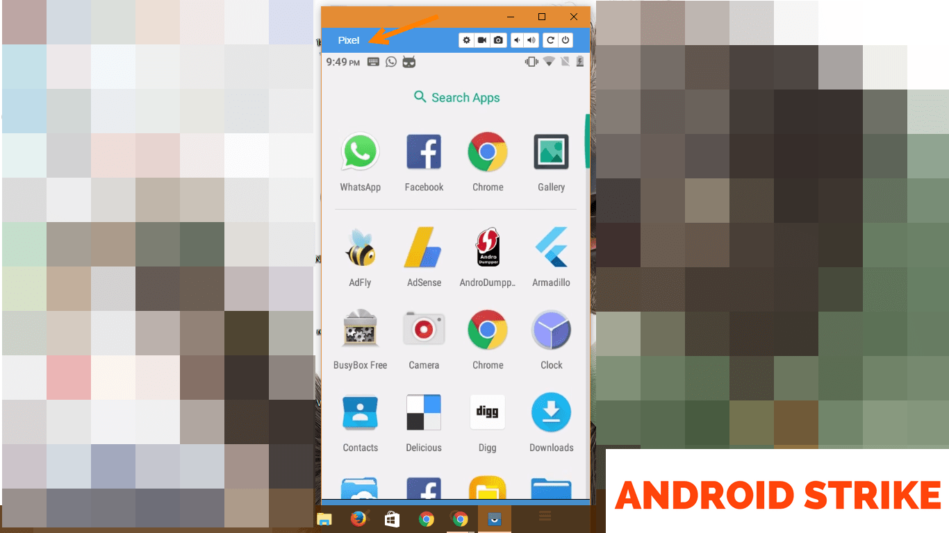 Mirror you Android Phone to PC using Vysor