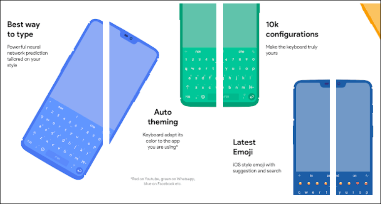 Chrooma android Keyboard app